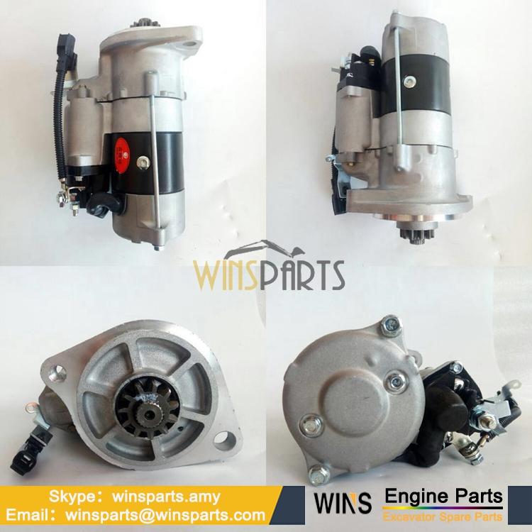 Vh28100e0080 281002894a Hino J08e Starter Motor Assy 24v